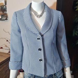 Tahari Arthur S. Levine Daisy Herringbone Jacket